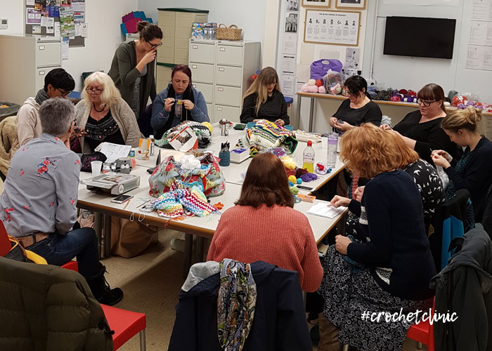 Crochet Clinic with April Towriess