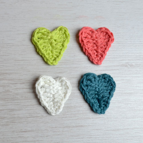 Crochet Heart Pattern by April Towriess