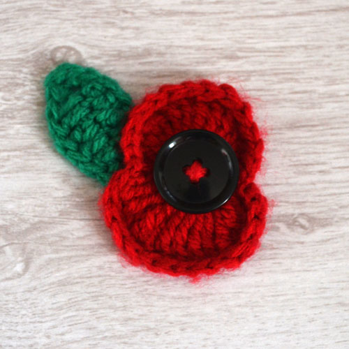 Crochet Poppy Pattern by April Towriess