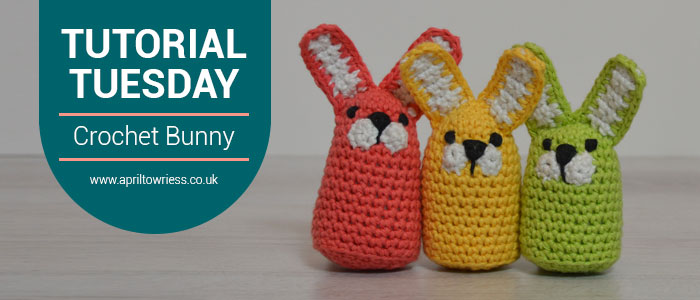 Tutorial Tuesday Crochet Easter Bunny by April Towriess